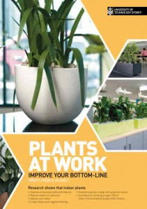UTS Plants at Work Brochure - Profit - People - Planet
