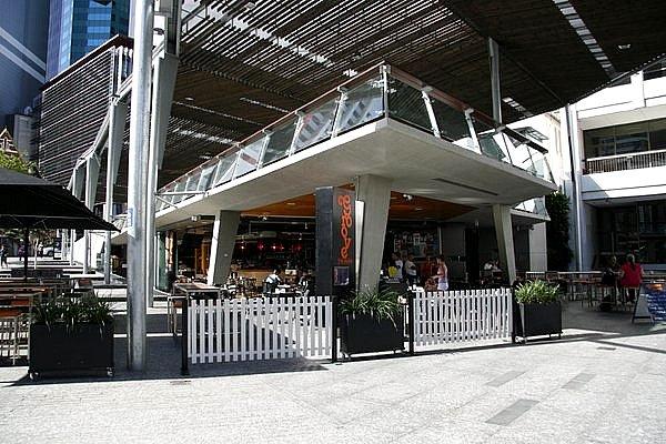 Showing Urban 10 troughs at King George Square Brisbane